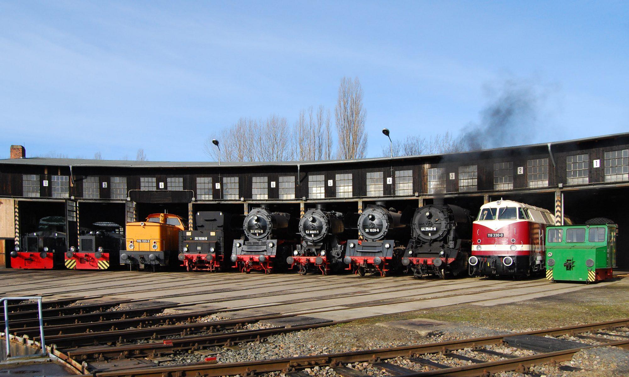 Historisches Bahnbetriebswerk Gera